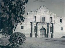 1961 Press Photo Alamo Mission San Antonio Texas