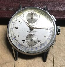 VINTAGE SUISSE CHRONOGRAPH 17 JEWEL AUTOMATIC MAJESTIC PRODUCTS 38mm