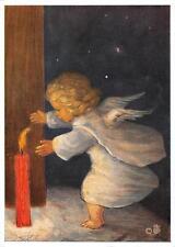 "vintage blank greeting cards  ARS SACRA Spötl""angels and light""1366"""