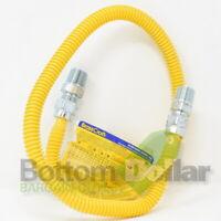 "BrassCraft CSSD44-36 1/2"" OD (3/8"" ID) X 36"" Gas Range & Gas Furnace Flex-Line"