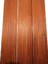 Padouk Riegel Brett Paduk geriegelt curly 100x13cm 24mm