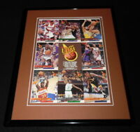 1993 Fleer Ultra Framed Uncut Card Sheet Scottie Pippen Karl Malone R Miiller