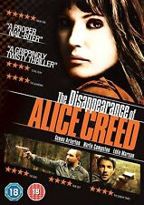 THE DISAPPEARANCE OF ALICE CREED    DVD   NEW & SEALED  Gemma Arterton