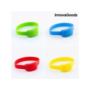 Bracelet Anti-Moustiques à la Citronnelle InnovaGoods