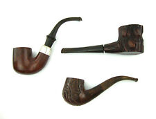 Vintage Estate Tobacco Pipe Lot Wellington Briar Barktree & Van Roy Dr. Grabow