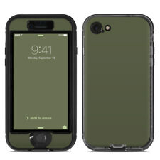Skin for LifeProof NUUD iPhone 7 - Solid Olive Drab - Sticker Decal