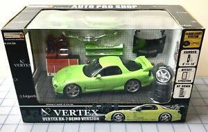 HOTWORKS MAZDA RX-7 / VERTEX FD3 1:24 SCALE RARE VINTAGE AUTO PRO SHOP SET MIB