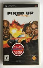 PSP Fired Up (2005), UK Pal, Brand New & Factory Sealed