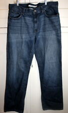 DKNY Jeans Mens Relaxed Fit Jeans Medium Wash 36x32