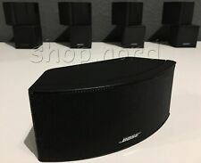 5x Bose Jewel Cubes, New/Boxed, Black, for 5.1 Set - Purchase from Dealer