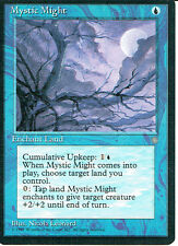 MAGIC THE GATHERING ICE AGE BLUE MYSTIC MIGHT
