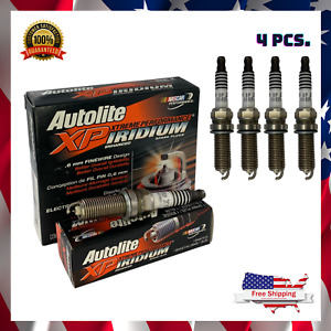 Set of 4 IRIDIUM SPARK PLUGS For ACURA HONDA INFINITI MAZDA SUBARU MPN XP5682