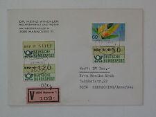 (g493) Bund, BRD ATM 1 Wert-Brief, Beleg Hannover 21.12.1983 Herrsching