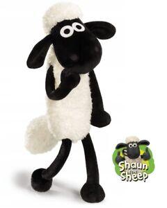 Shaun the Sheep Timmy Time Plush Stuffed Toy 40cmH Fluffy w/ Hang Tag BRAND NEW