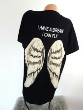 MADE IN ITALY A DREAM Oversized Shirt Flügel Blogger Longshirt 36 38 40 42