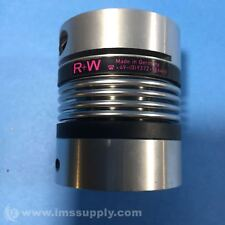 R+W BK2/15/59 BELLOWS COUPLING, 1.5NM TORQUE, 16MM TO 12MM BORE USIP
