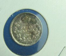 Canada 1908 5 cents very nice coin high grade circulated