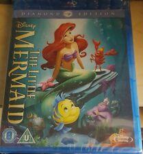 The Little Mermaid Blu-ray -Diamond Edition Brand New