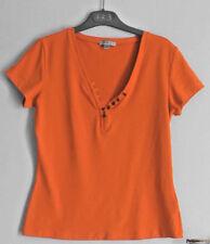 T-shirt Orange, de marque 1.2.3. NEUF Taille indiquée 42-44 (mais plutôt 40-42)