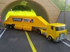 Hot Wheels Vintage Steering Rigs United Grain Trailer & Modified Unit