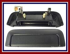 MITSUBISHI L200 96-06 OUTER REAR TAILGATE BOOT DOOR HANDLE BLACK NEW