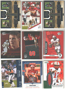 🔥🏈 PHILIP RIVERS Pick Your Favorite Rookie RC Jersey S/N Indianapolis Colts