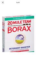 1 oz / 6 tsp BORAX 20 MULE TEAM LAUNDRY BOOSTER Detergent Sodium Tetraborate USA