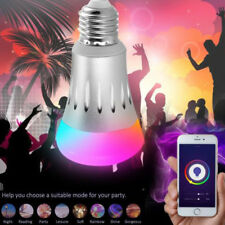 E27 7W LED Glühbirne Licht RGB Wifi APP Elegant Music Audio Lampe Passt Amazon