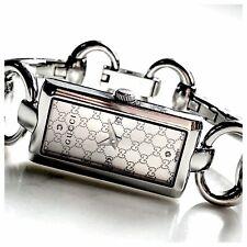 Genuine Gucci Tornabuoni 119 Ladies Silver Dial Watch with Diamonds