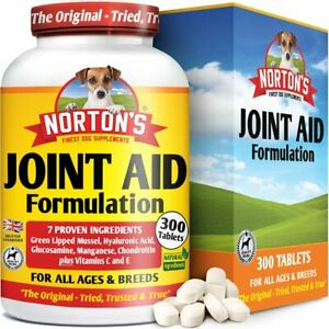 NORTON's Dog Joint Supplement The Most Active Ingredients for Advanced Joint Aid