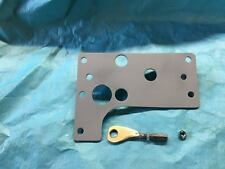 "Early Bronco Hydro-Boost firewall mounting plate with 1 5/8"" hole"