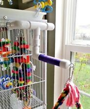NEW Medium 3/4' Parrot Perch  Swiveling Toy Arm for Cage  **FREE SHIPPING