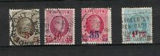 Belgium 191 - 194 - Surcharged. Set Of 4. Used. #02 Belg191s4