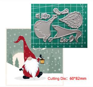 Christmas Santa Claus Metal Cutting Dies Embossing Scrapbooking Stencil Crafts