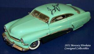 "Danbury Mint 1951 MERCURY HIROHATA ""SIGNED"" 1/24 XC!"