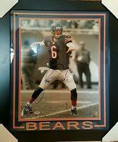 Jay Cutler Signed Bears 23x27 Custom Framed Photo Display PSA/DNA ITP COA