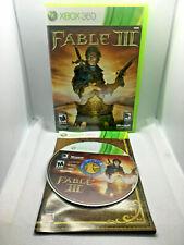 Fable Iii 3 Microsoft Xbox 360 Mint Disc Complete Cib Very Fast ShipWorld!