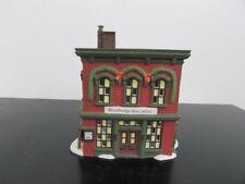 New England Village Series Woodbridge Post Office Department 56 1995