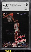 1997 Ultra Basketball Michael Jordan BCCG 10 (PWCC)