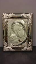 Quadro bassorilievo Madonna con Bambino OTTAVIANI  60203 in argento