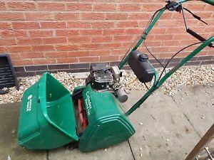 Qualcast Suffolk punch 14s self drive lawnmower