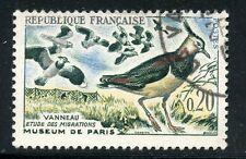 STAMP / TIMBRE FRANCE OBLITERE N° 1273 OISEAUX - LES VANNEAUX