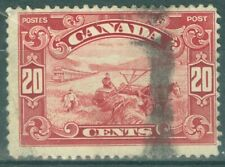 Canada 1928 - 20¢ Dark Carmine Harvesting Wheat- Sc#157