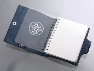 K0120M Authentic HERMES Genuine Leather Agenda Notebook Cover *Inside Defect