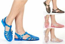 """Flat (less than 0.5"""") Strappy Block Casual Shoes for Women"""