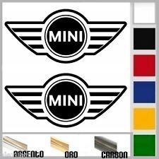 coppia adesivo sticker bmw MINI cooper s tuning logo prespaziato,auto