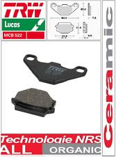 Jeu 2 Plaquettes frein Organic  TRW Lucas  MCB523 MCB 523