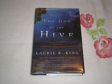 The God of the Hive by Laurie R. King *Signed*