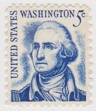 (USB232)1965 USA 5c Washington clear face ow1265