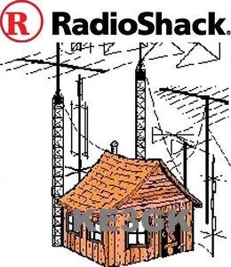 Radio Shack -  Realistic Manuals Library - Schematics * CDROM * PDF * KE3GK